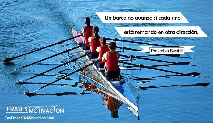 cuarta frase de motivación para trabajo en equipo