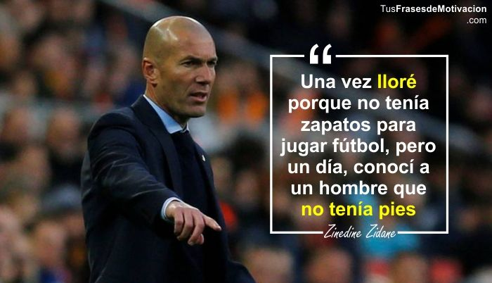 1. frase de motivación para el fútbol