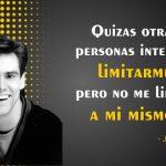 Frases motivadoras de Jim Carrey sobre la madurez y el dinero