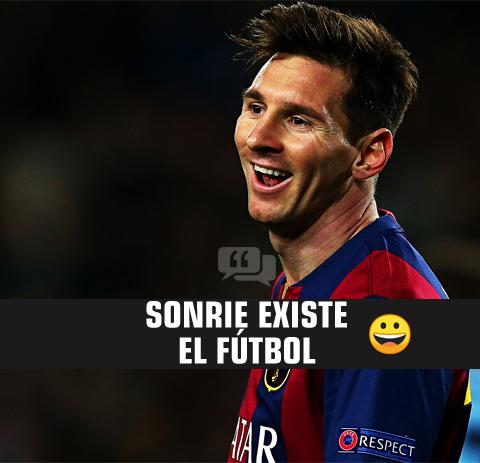 3. Frase de fútbol con amor de messi
