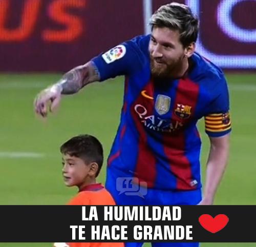 4. Frase de fútbol con amor de un niño