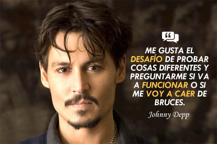 frases motivadoras de Johnny depp
