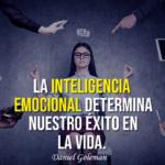 La inteligencia emocional determina nuestro exito en la vida. Frase de Daniel Goleman