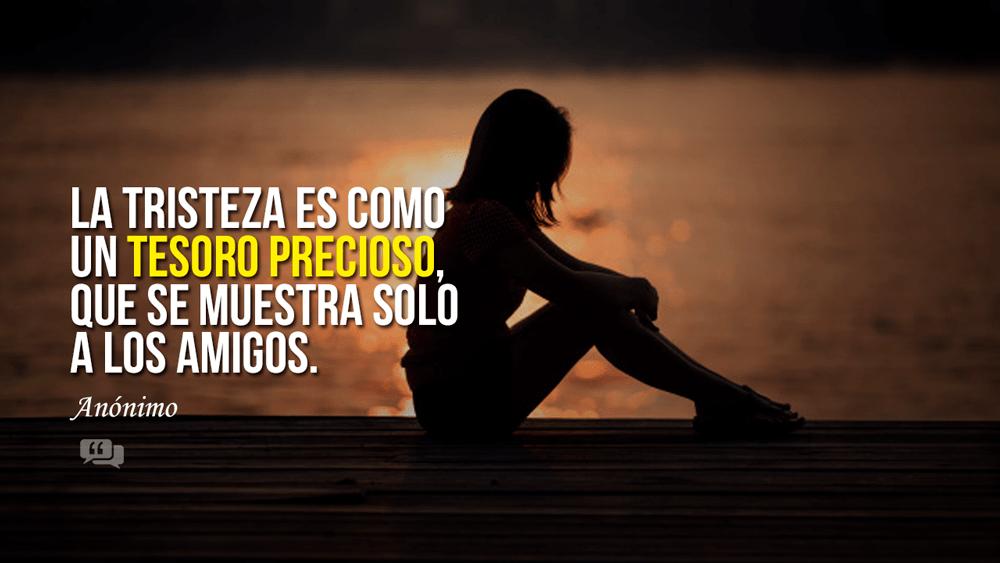 frases cortas de soledad y tristeza